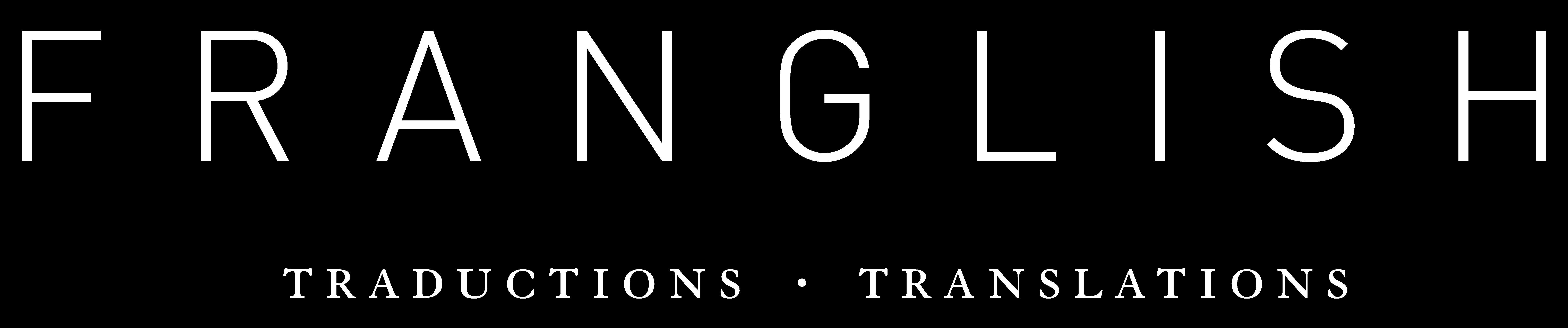 Logo Blanc Franglish